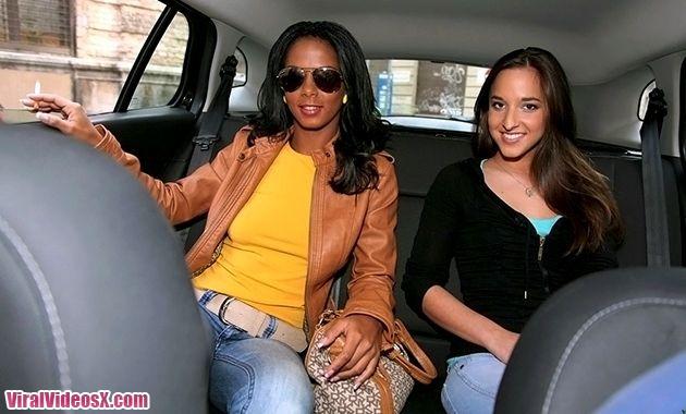 High heels tight ass Amirah and Isabella...