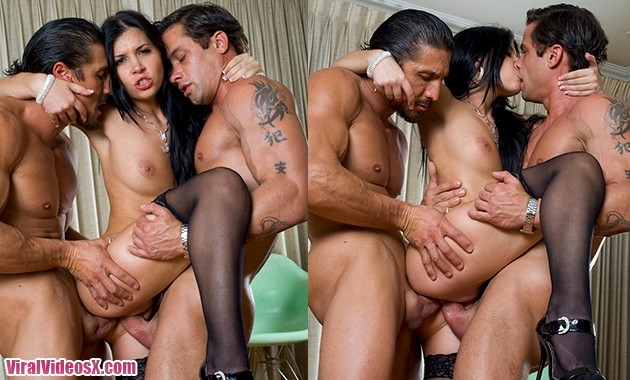 Private Hot Rebeca Linares Cheats Her Husband And Double Penetration