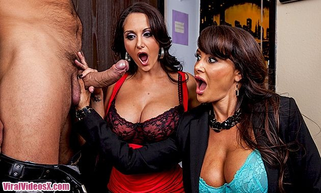 Brazzers Lisa Ann and Ava Addams Busted  ...