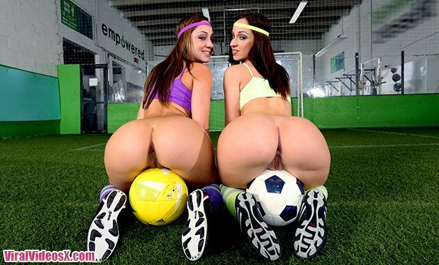 Ass Parade Jada Stevens and Remy LaCroix...