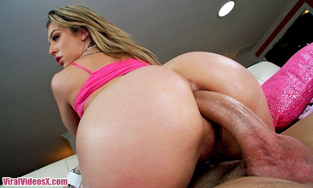 Her tight ass gets completely filled with dicks and toys Bailey Blue