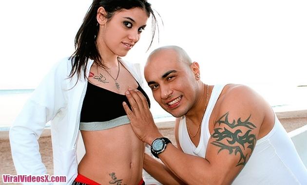Ana Marco y Conan su personal training Culebrones X