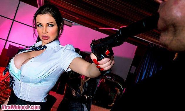 Brazzers Aletta Ocean Spy Hard 3 Hit Girl  - 2
