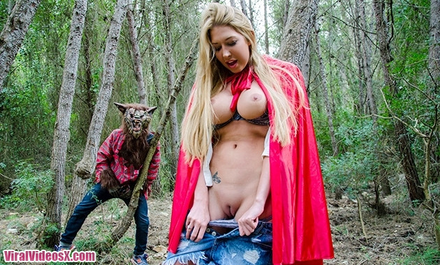 Big Tit Cream Pie Lexi Lowe outsides in the woods