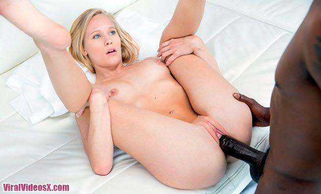 Blacked Dakota James Blonde Teen First Ex...