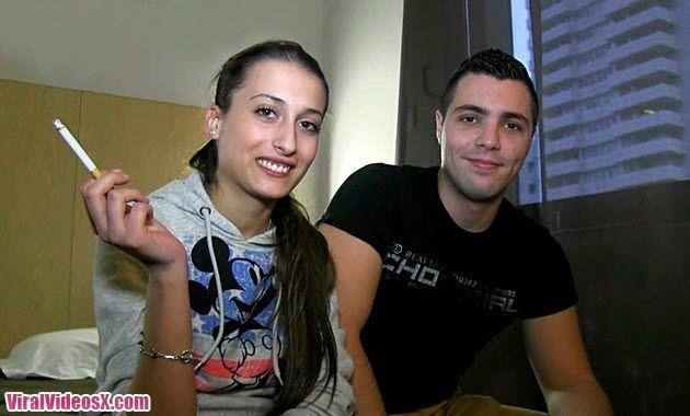 BrunoyMaria Caty y Alberto Debutan en el porno con solo 18 años