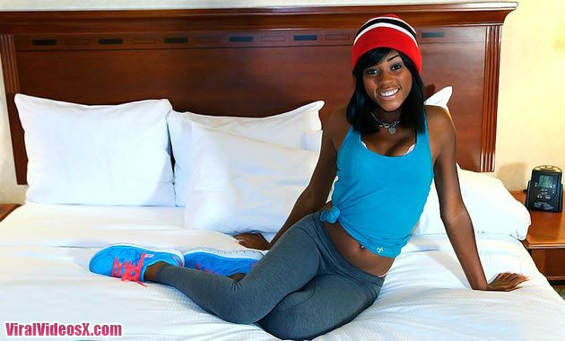 Team Skeet Teeny Black Karma May First Timer Gets Pounded