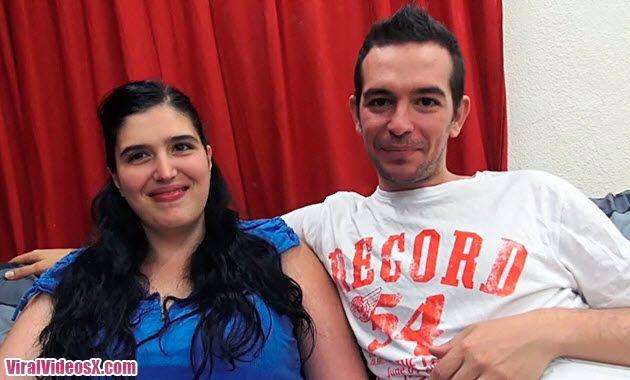 Parejitas Jessy y Jose La tetona y su novio