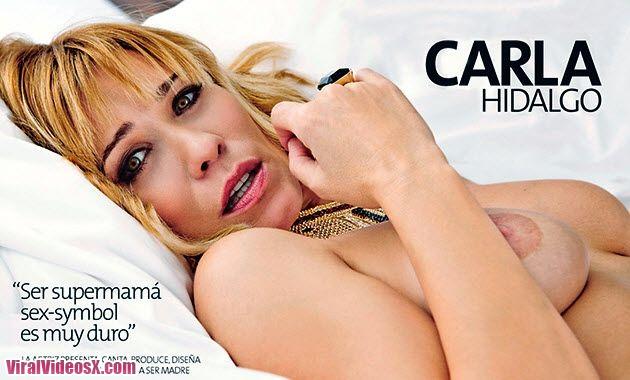Carla Hidalgo Antes y Despues de dar a Lu...