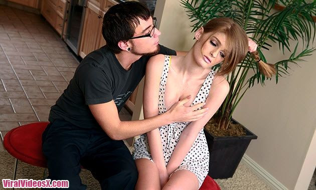 Faye Reagan Tries Out For Porn