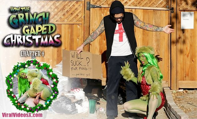 Burning Angel Joanna Angel How The Grinch Gaped Christmas Chapter 4