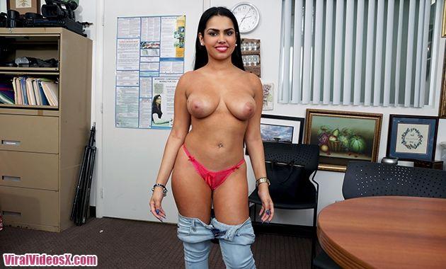 Ho in Headlights Ada Sanchez Busty Latina...