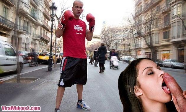 Carolina Abril, follandome a un boxeador...