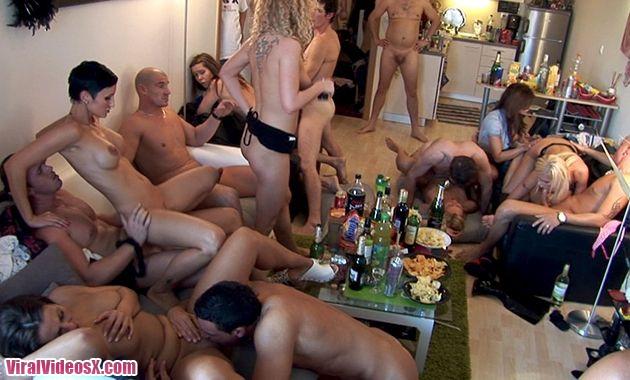 Czech Home Orgy 2 Part 2