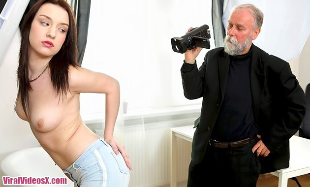 TeenMegaWorld Lenka Old Guy Enjoys a Teen