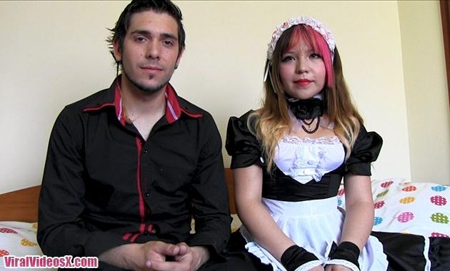 Parejitas Mitsuki Sweet y William Sexdick La japonesa y el madrileño