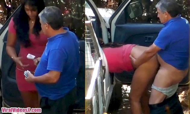 Prostituta Latina grabada mientras folla ...
