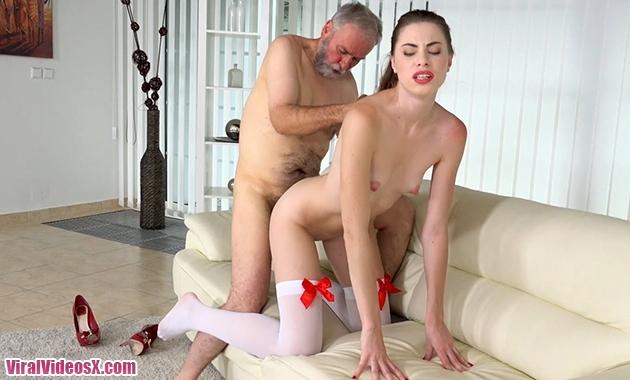 TeenMegaWorld Old-n-Young Ilona C Young Escort Fucks Him