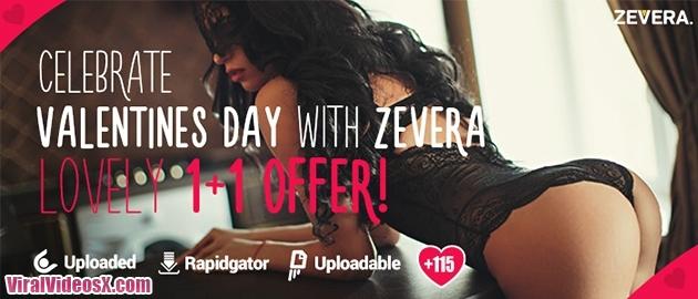 Zevera - Feliz Dia de San Valentin con la OFERTA 1+1 GRATIS