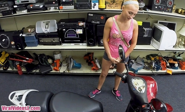 XXX Pawn Sadie Leigh Stealing Will Only G...