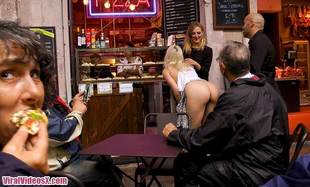 Public Disgrace Kink Liz Rainbow Eager Blond Nimpho Needs All Her Holes