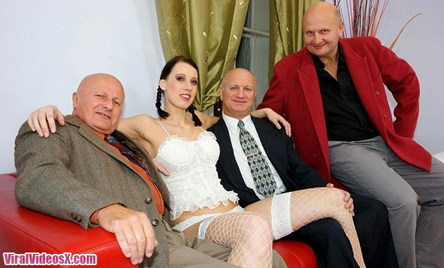 Old And Young - Gangbang Lyla 21