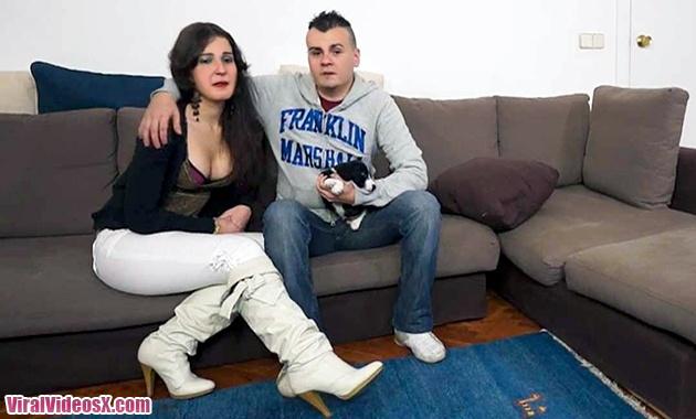 Xdeluxe Adan y Eva La pareja del Perrito...
