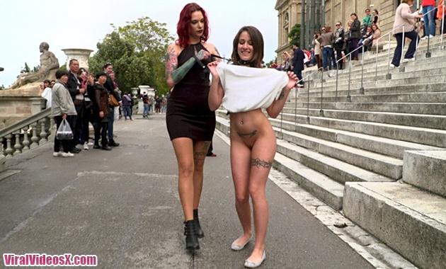Public Disgrace Kink Alexa Nasha y Silvia...