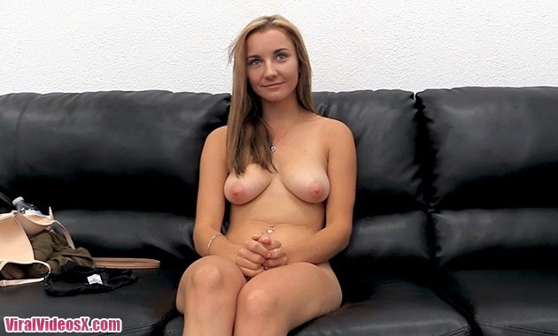 Backroom Casting Couch - Amber
