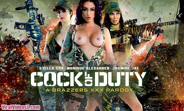 Brazzers Porn Stars Like it Big Cock Of Duty A XXX Parody