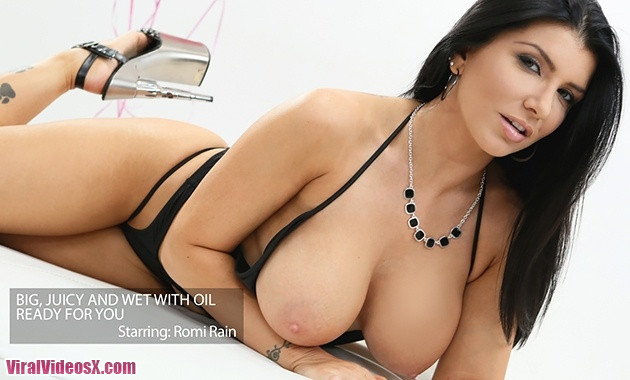 New Sensations Romi Rain Romis Tits Are Wet and Ready For You