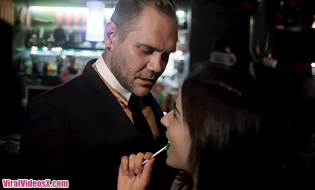 Evil Angel Ena Sweet Passionate Straight Fuck In A Gay Club