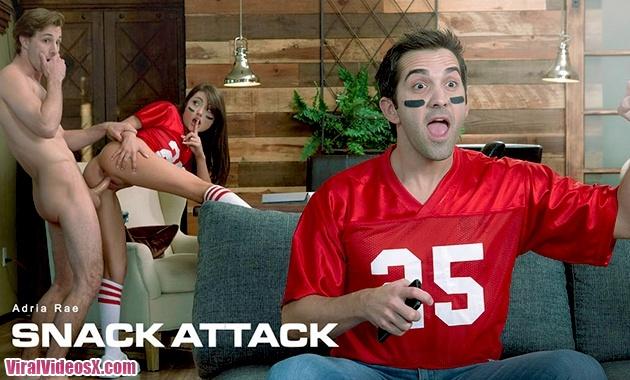 Babes Adria Rae Snack Attack