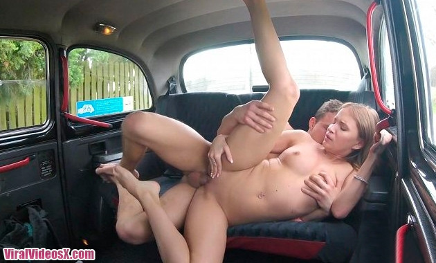 Female Fake Taxi - Angel Piaff Young Stud Speed Fucks Czech Pussy