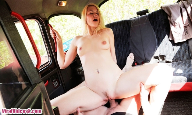 Fake Taxi - Izzy Delphine Backseat Rim Jo