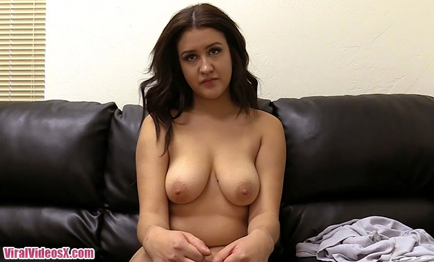 Backroom Casting Couch Vanessa