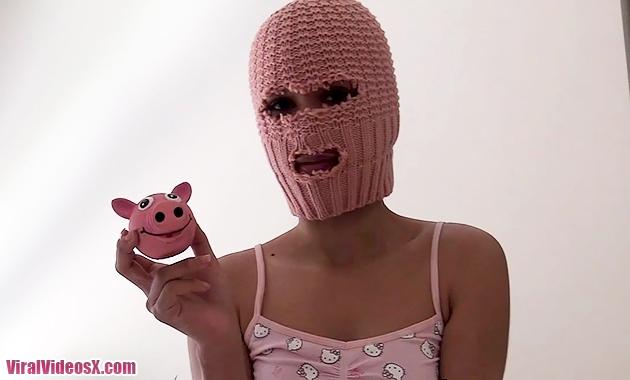 Anonimas La chica Femen