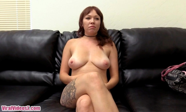 Backroom Casting Couch - Zoey