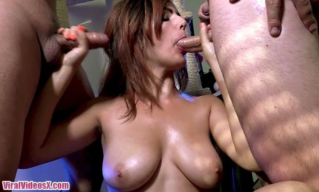 Bukkake Claudia Sevilla