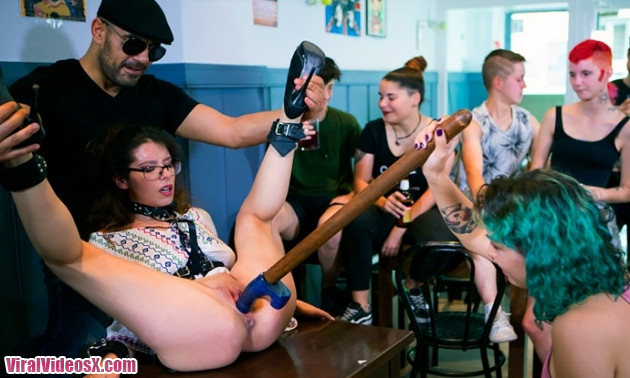 PublicDisgrace Zenda Sexy public shame slut sexy disgraced