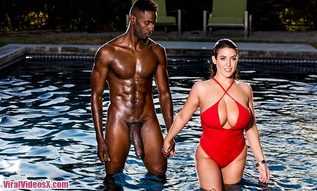 Blacked Angela White Unexpected Sex