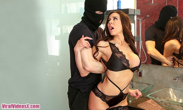 Kendra Lust Takes Control of The Thief Ba...