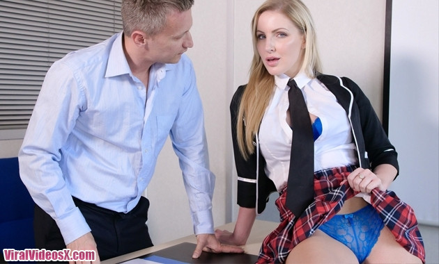 Georgie Lyall in Thankful ex student Porn...