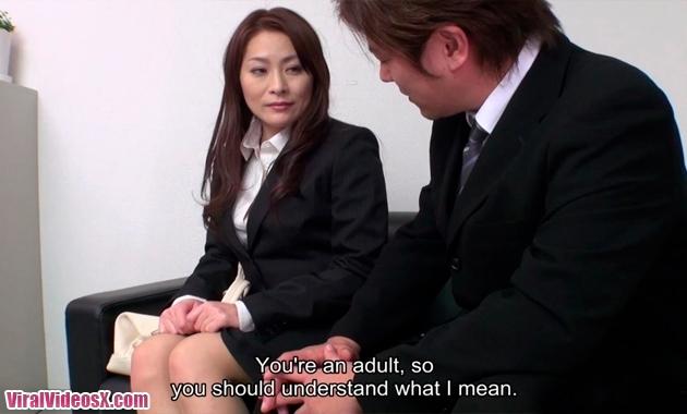 JapanHDV - Yuri Kawana - New office lady ...